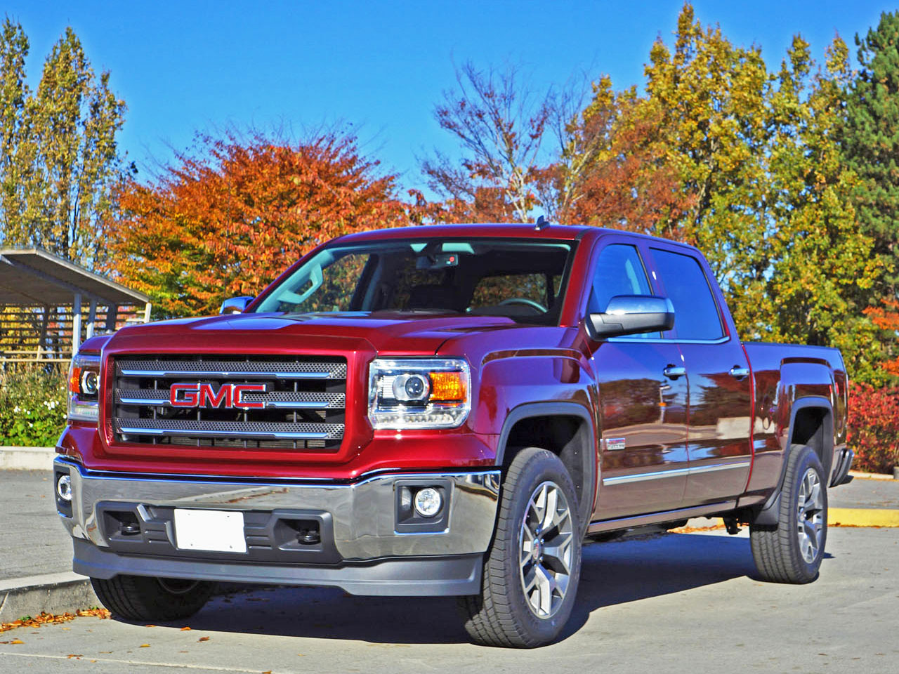 2015 gmc sierra 1500 sle crew cab 4x4 road test review carcostcanada. Black Bedroom Furniture Sets. Home Design Ideas