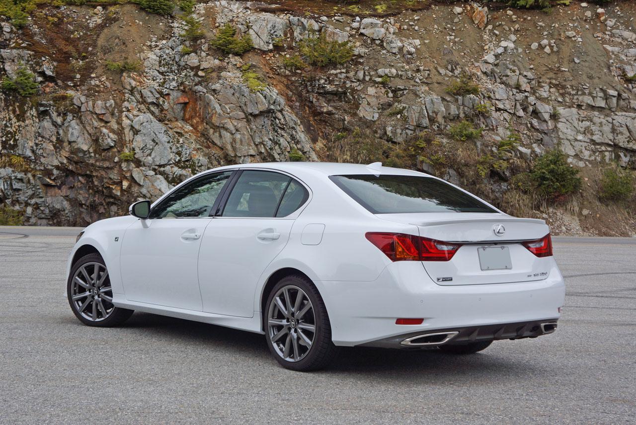 2015 Lexus GS 350 AWD F Sport Road Test Review