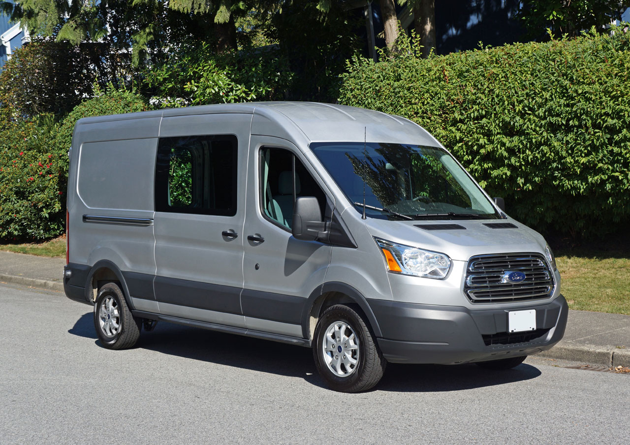 2015 ford transit 250 diesel cargo van road test review carcostcanada. Black Bedroom Furniture Sets. Home Design Ideas