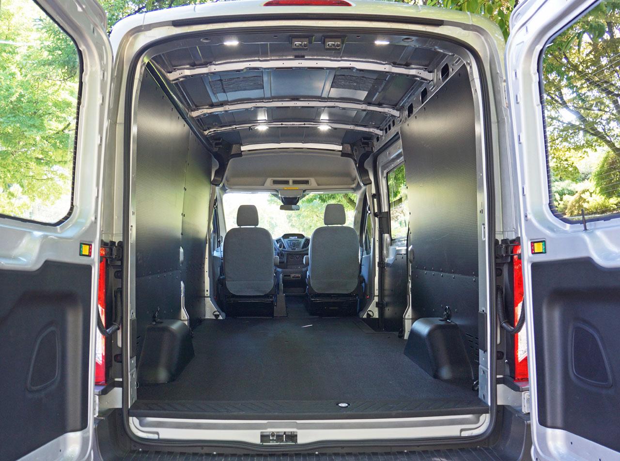 2015 ford transit 250 diesel cargo van road test review carcostcanada. Black Bedroom Furniture Sets. Home Design Ideas
