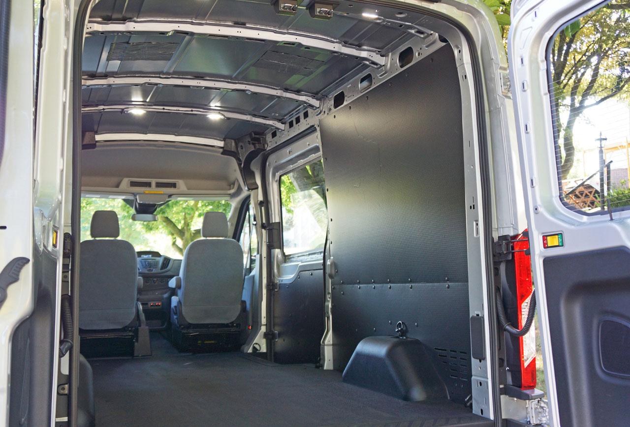 2015 Ford Transit 250 Diesel Cargo Van Road Test Review Carcostcanada Wagon Interior