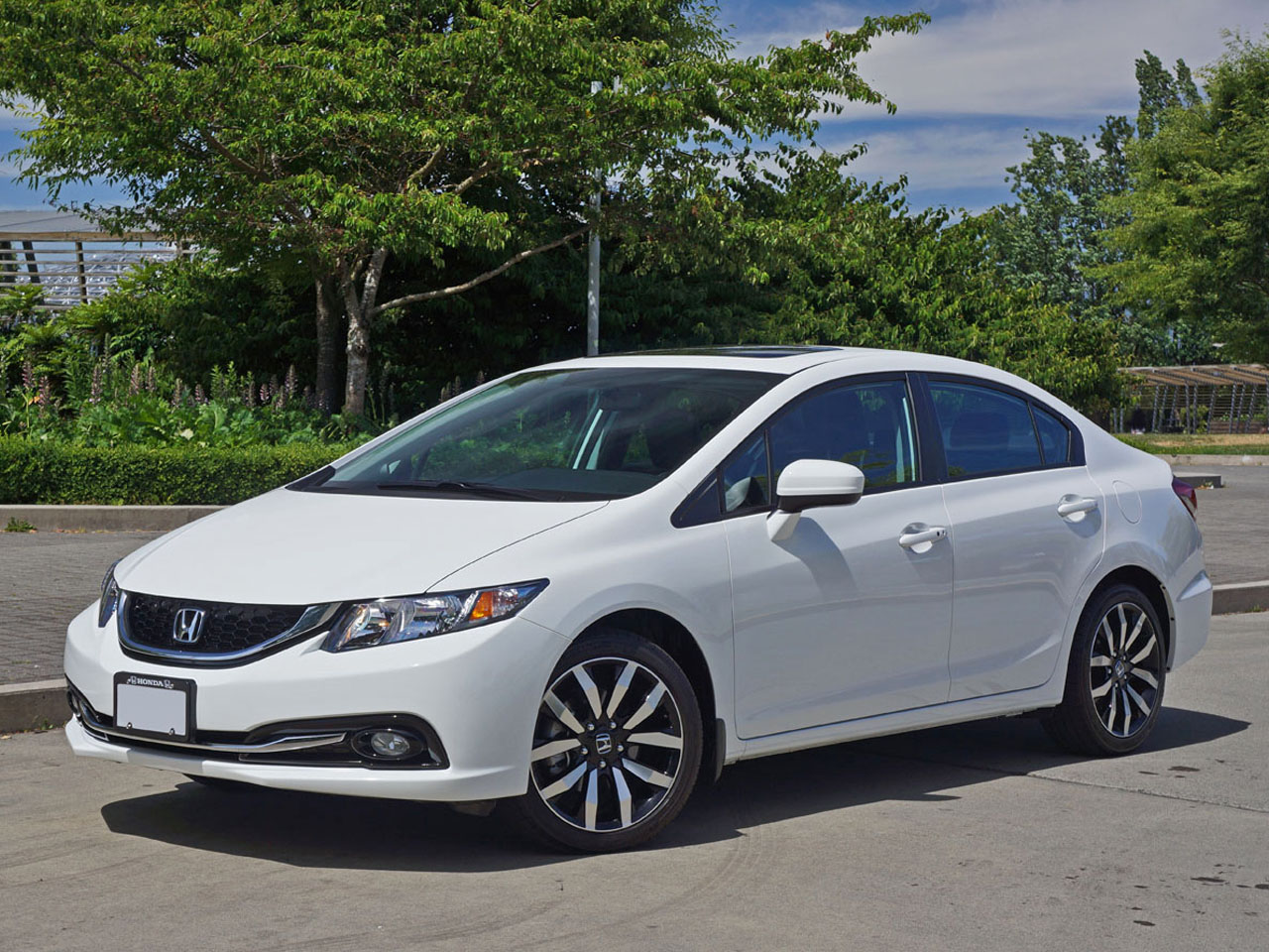 2015 honda civic sedan touring road test review for Honda civic 2015 for sale