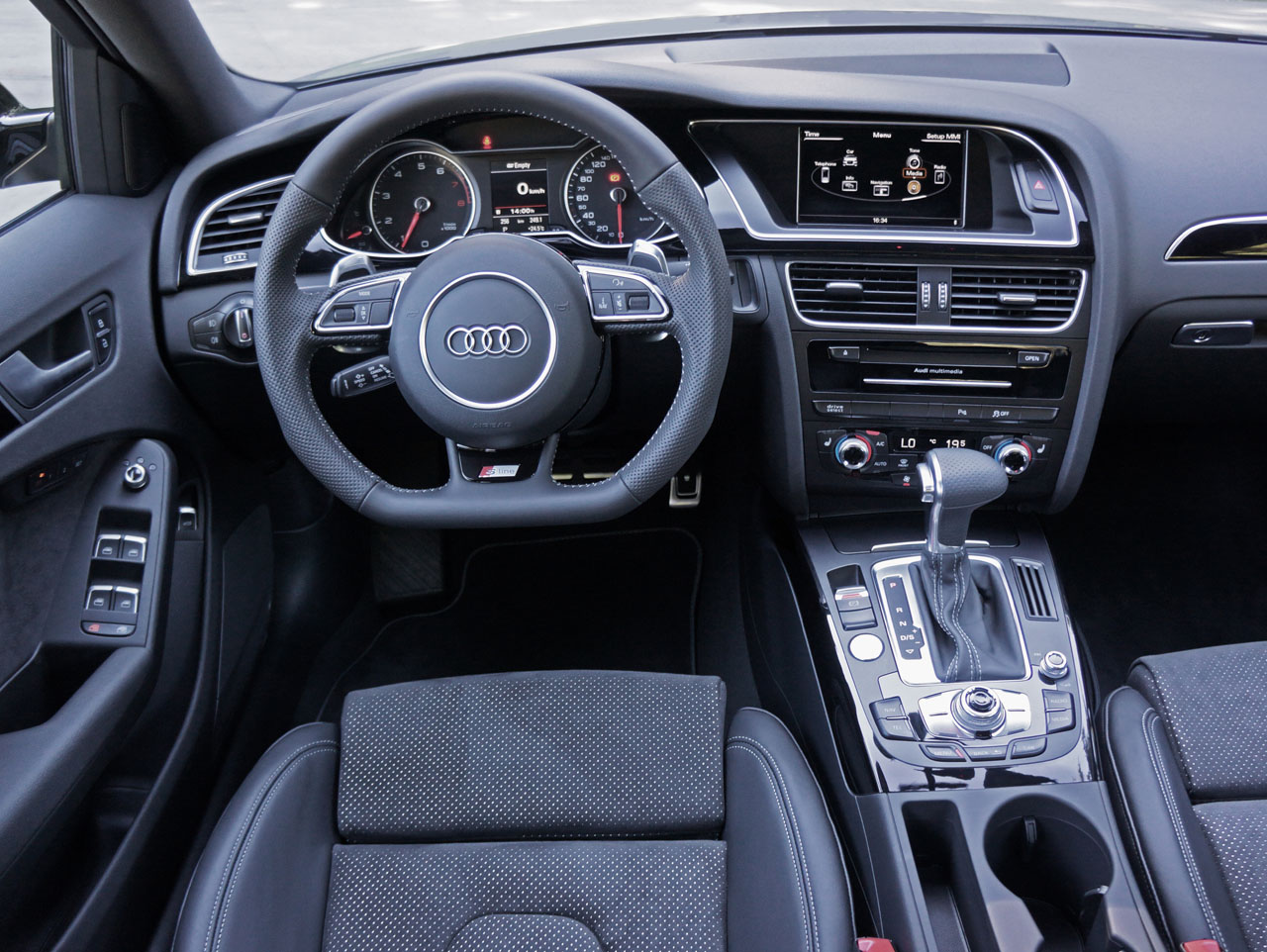 2015 Audi A4 2 0 TFSI Quattro S line Road Test Review