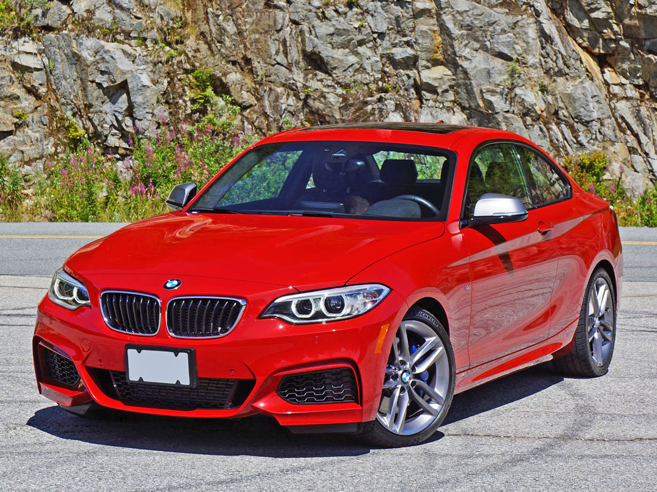 2015 m235i curb weight