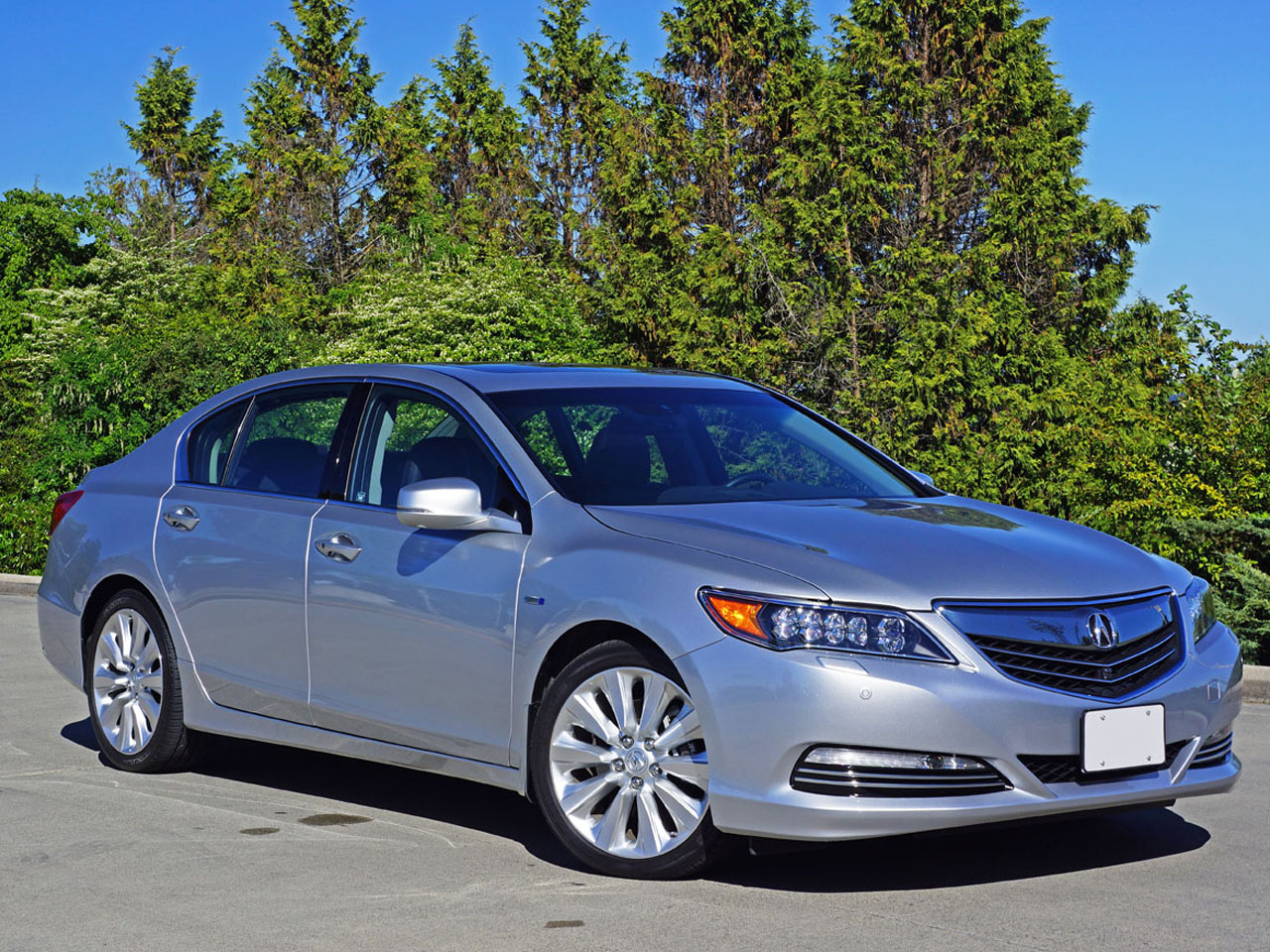rlx awd review test acura road driving hybrid reviews car sh sport