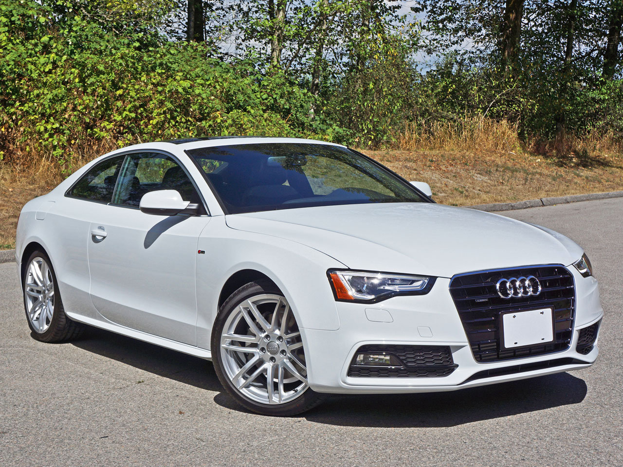 2015 audi a5 coupe 2 0 tfsi quattro progressiv s line road test review carcostcanada. Black Bedroom Furniture Sets. Home Design Ideas