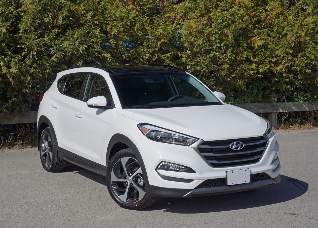 2016 Hyundai Tucson 1 6t Limited Awd Road Test Review