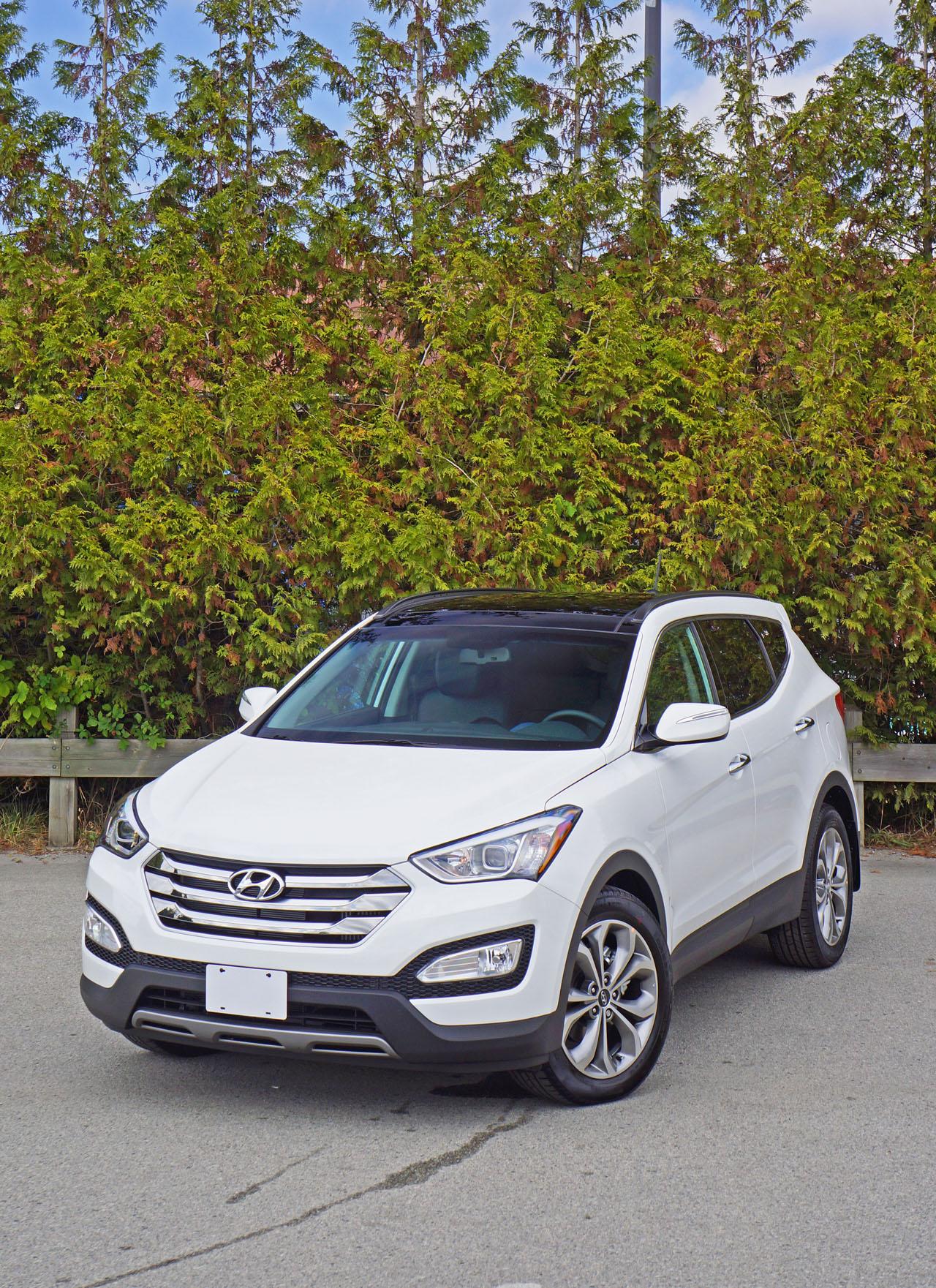 2016 Hyundai Santa Fe Sport 2 0t Se Road Test Review