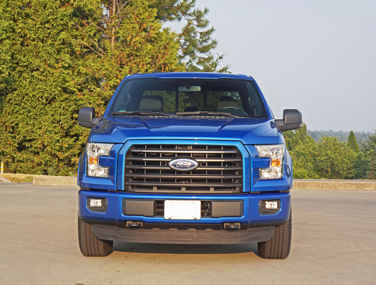 2015 Ford F 150 Xlt Sport Supercrew 27 Ecoboost 4x4 Road Test Blue Review