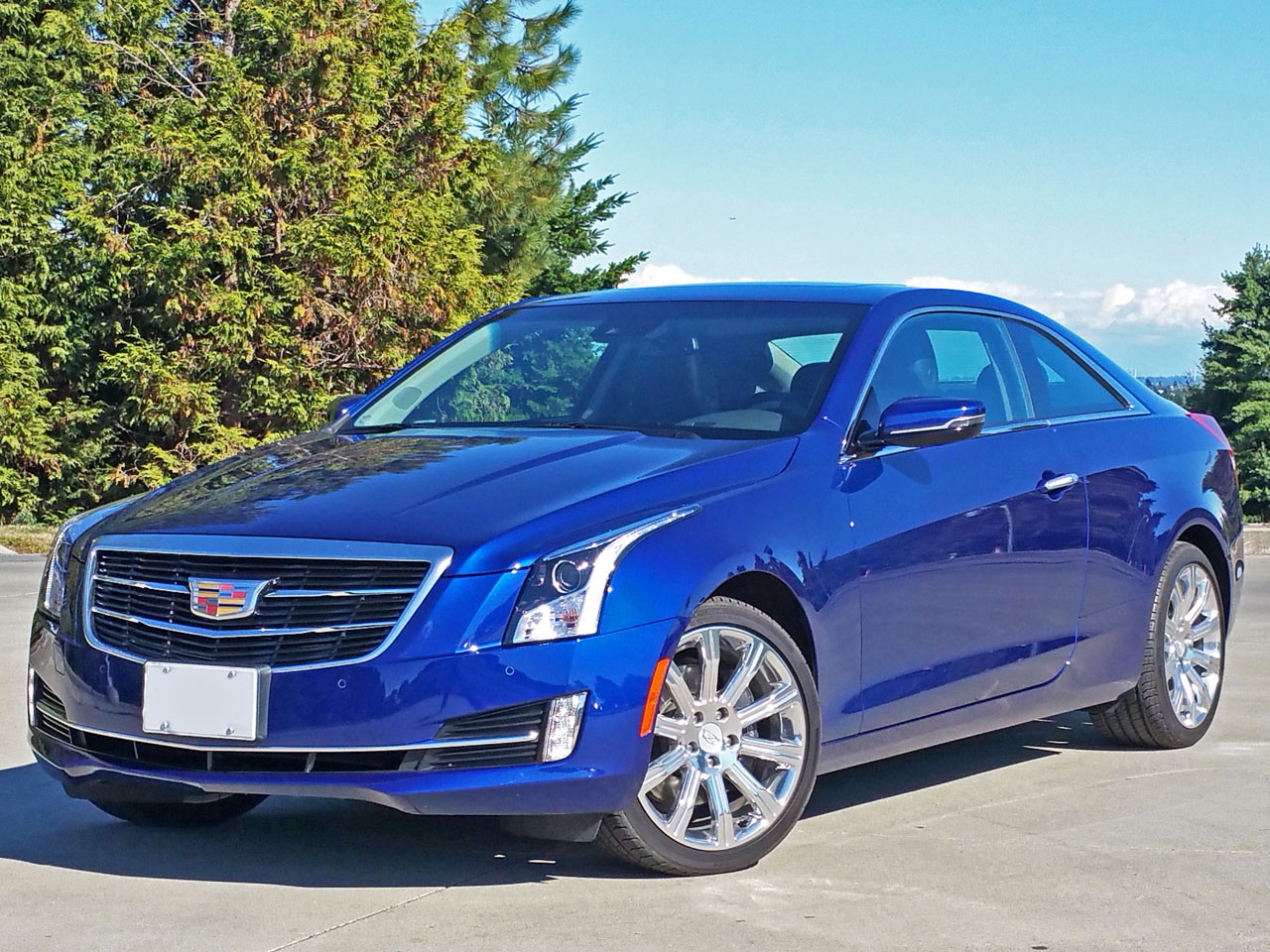 2015 Cadillac Ats Coupe 3 6 Road Test Review Carcostcanada