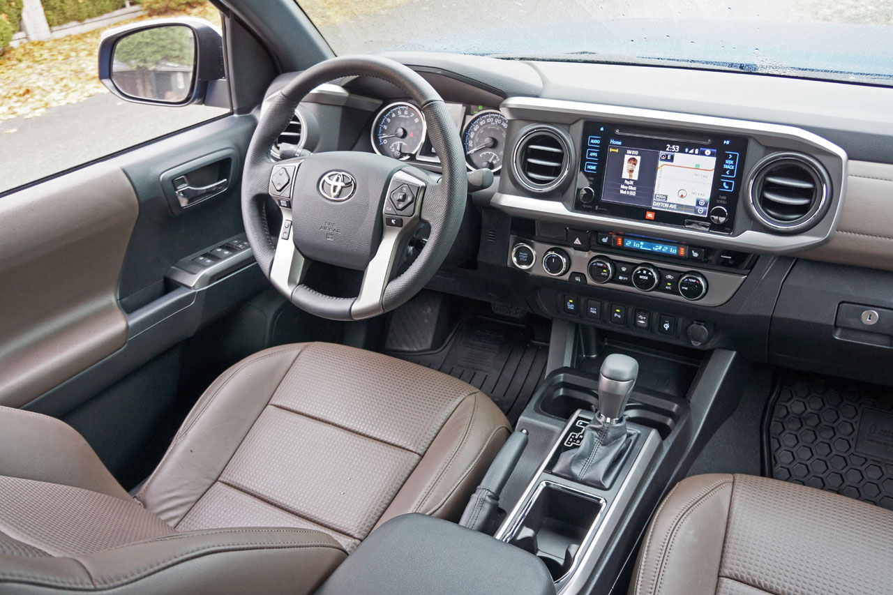 2016 Toyota Tacoma 4x4 Double Cab V6 Limited Road Test Review Carcostcanada