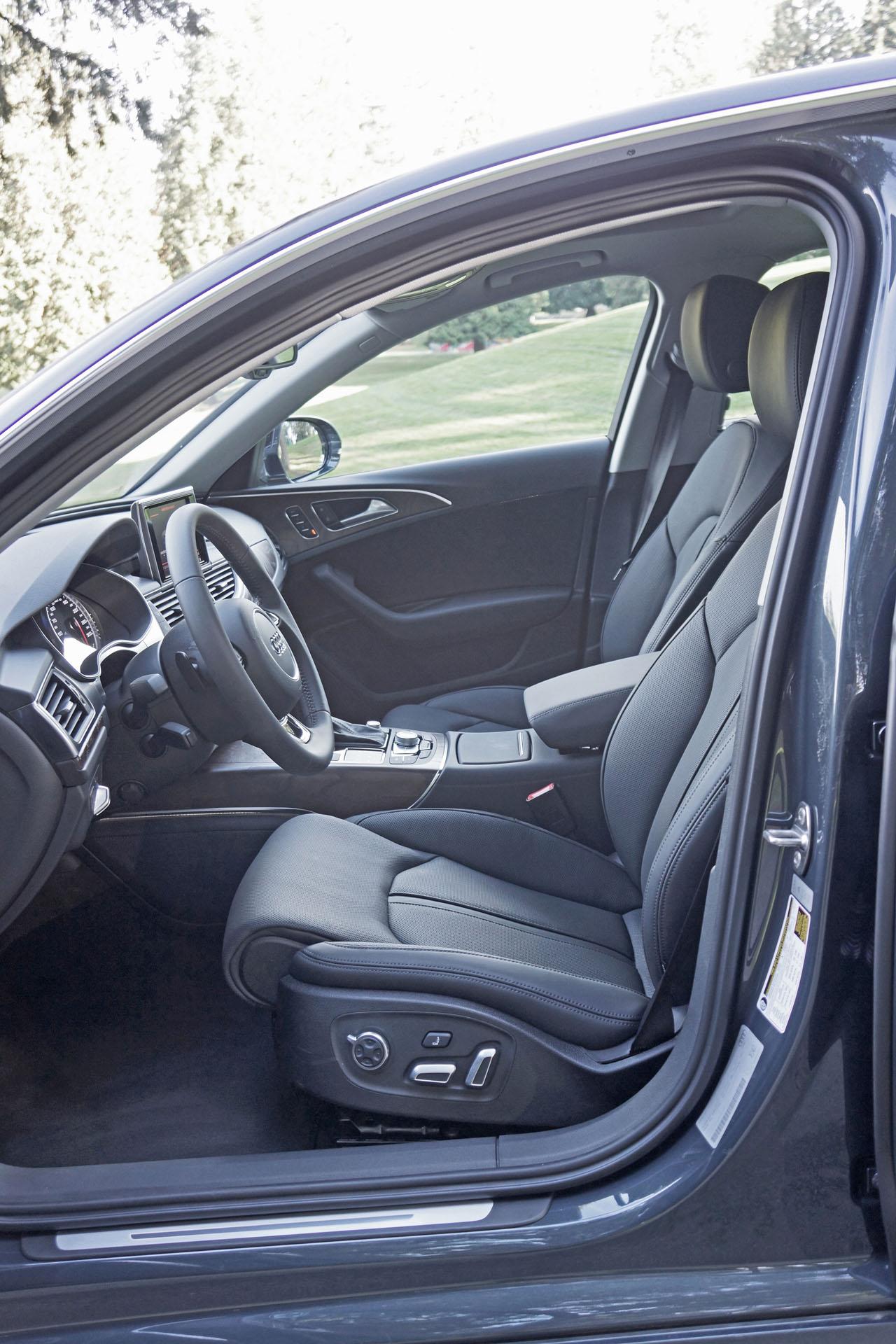 2016 Audi A6 3 0t Interior: 2016 Audi A6 3.0 TFSI Quattro Technik Road Test Review