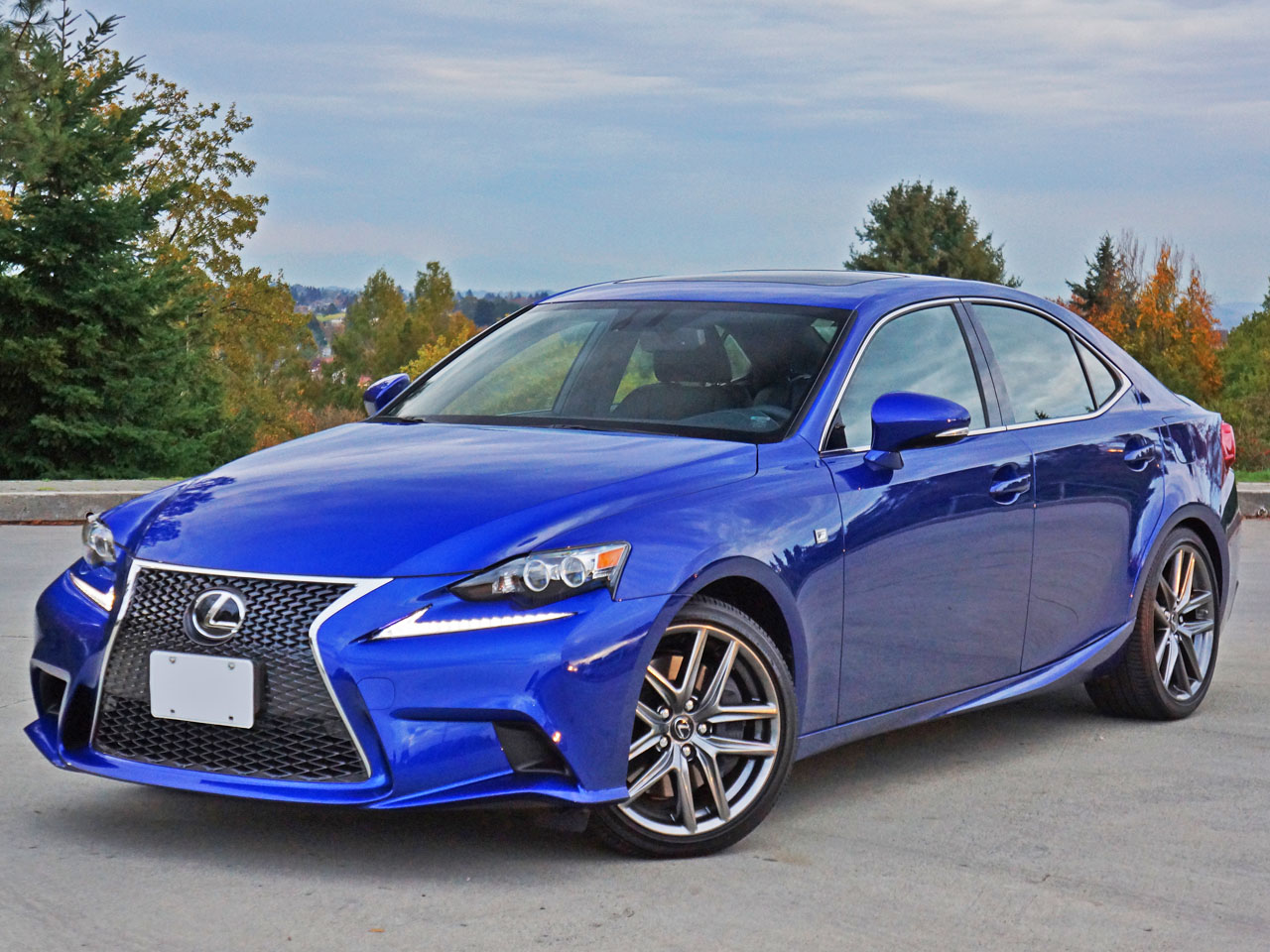 2016 Lexus Is 350 Awd F Sport Road Test Review