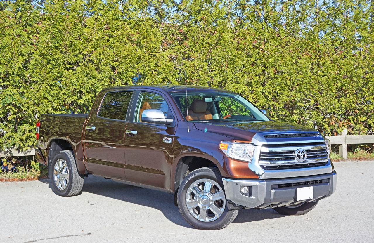 2016 toyota tundra 4x4 crewmax platinum 1794 edition road test review carcostcanada. Black Bedroom Furniture Sets. Home Design Ideas