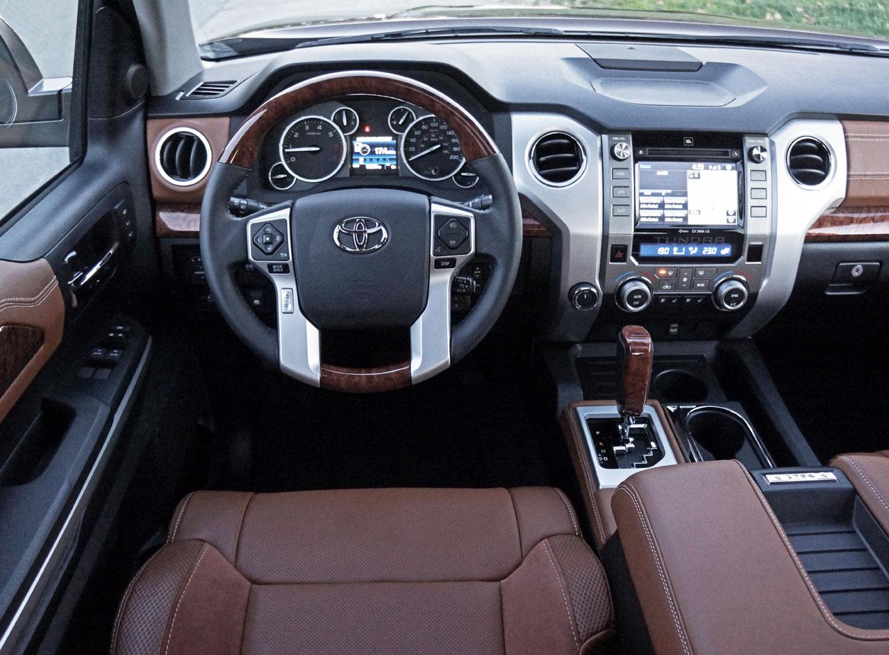 2016 toyota tundra 4x4 crewmax platinum 1794 edition road - Toyota sequoia interior dimensions ...