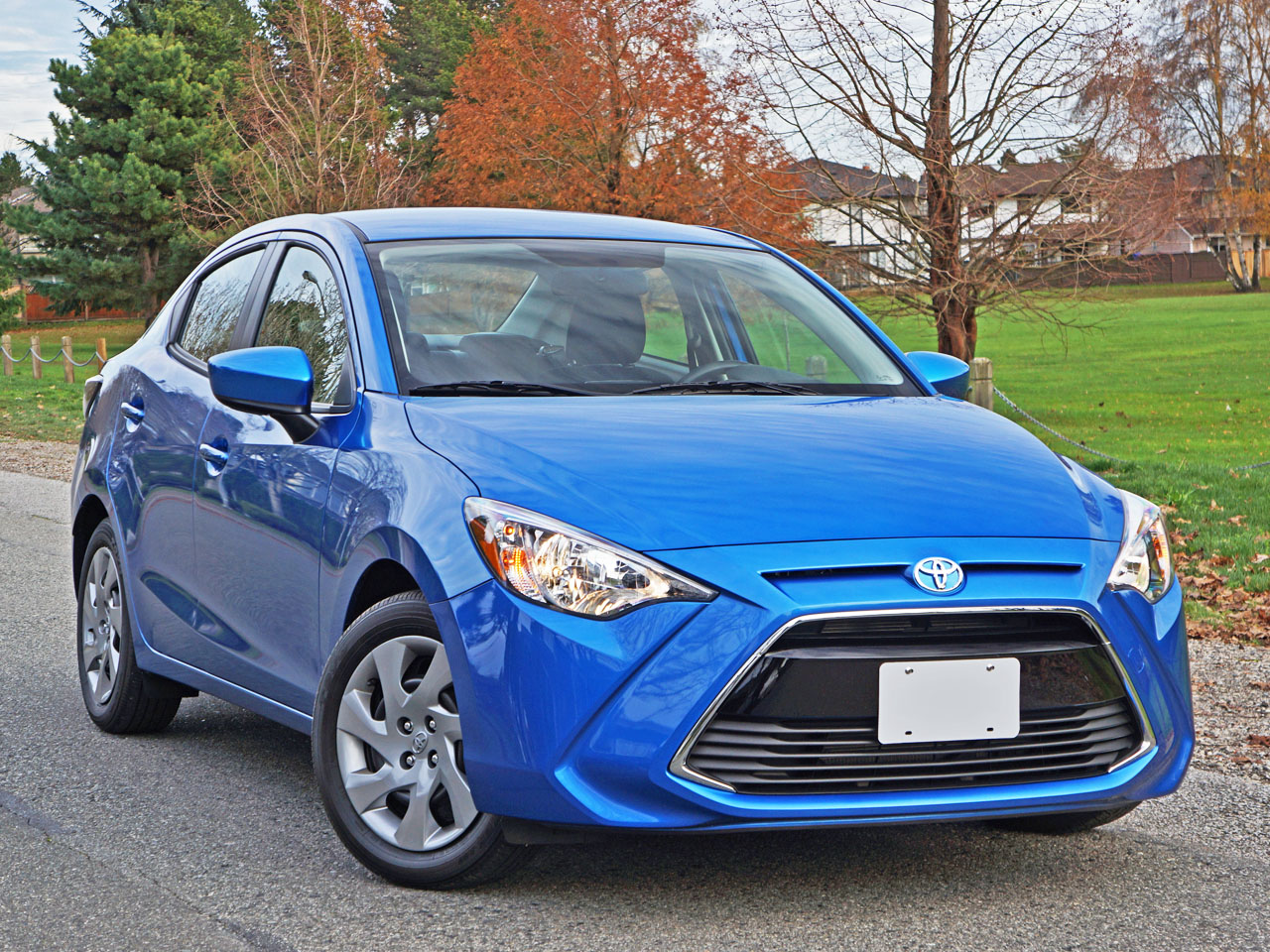 2016 Toyota Yaris Sedan Road Test Review