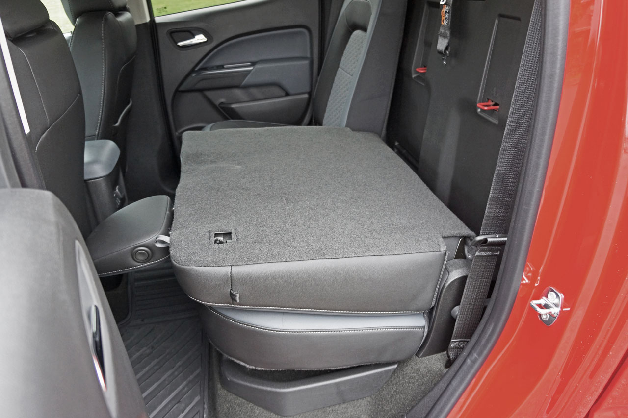 Chevy Colorado Z71 Seat Covers - Velcromag