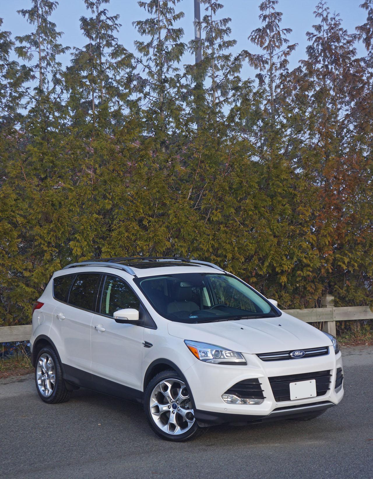 Ford Escape Titanium WD Road Test Review CarCostCanada - Ford escape invoice
