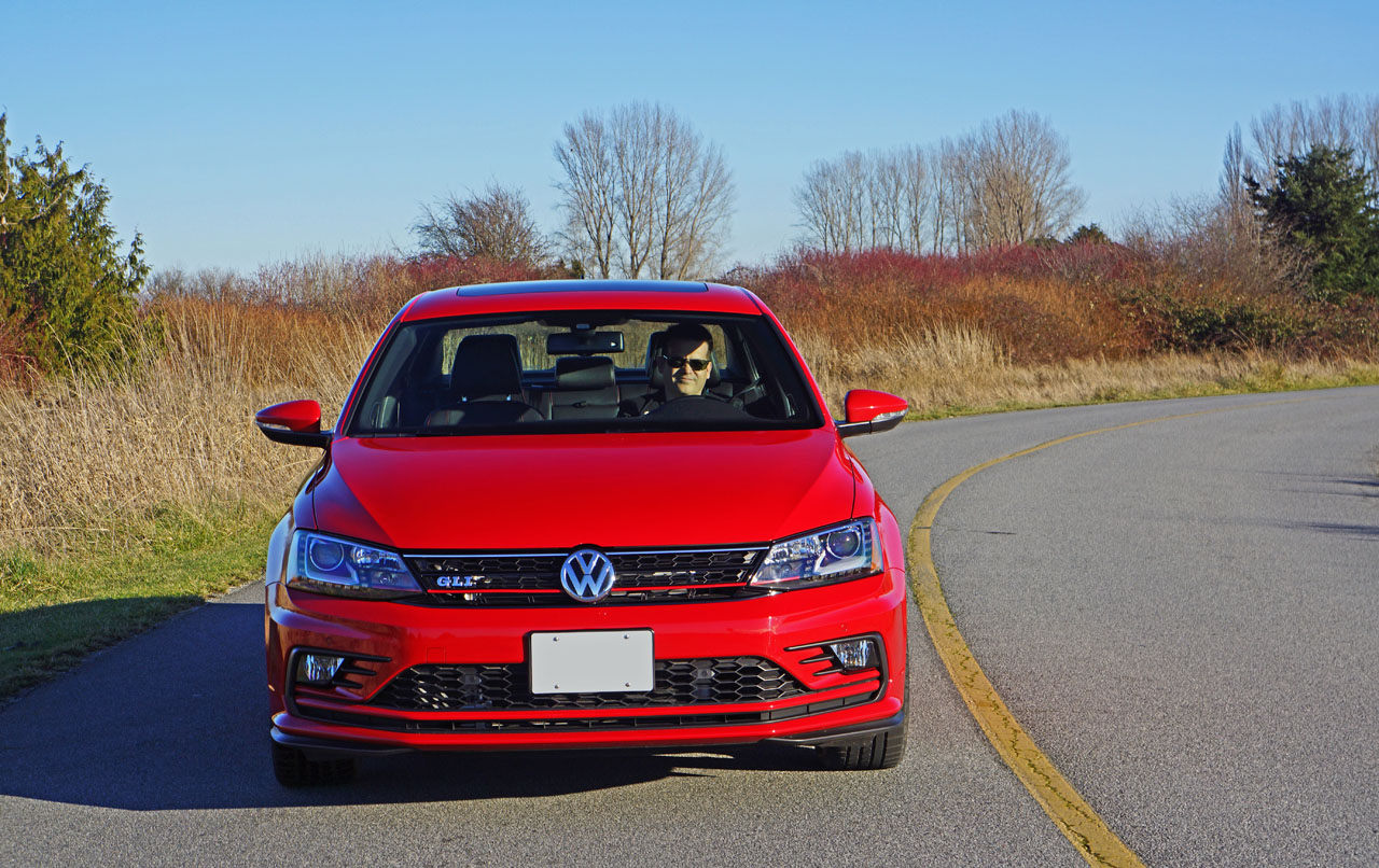 2016 Volkswagen Jetta GLI Autobahn Road Test Review | CarCostCanada