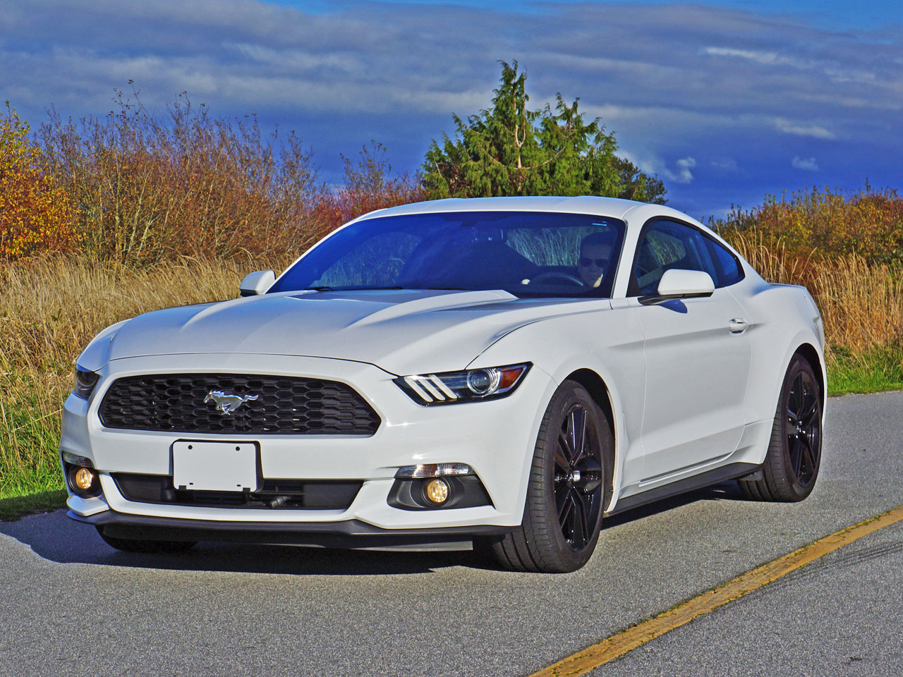 2016 Ford Mustang Ecoboost Fastback Road Test Review | CarCostCanada