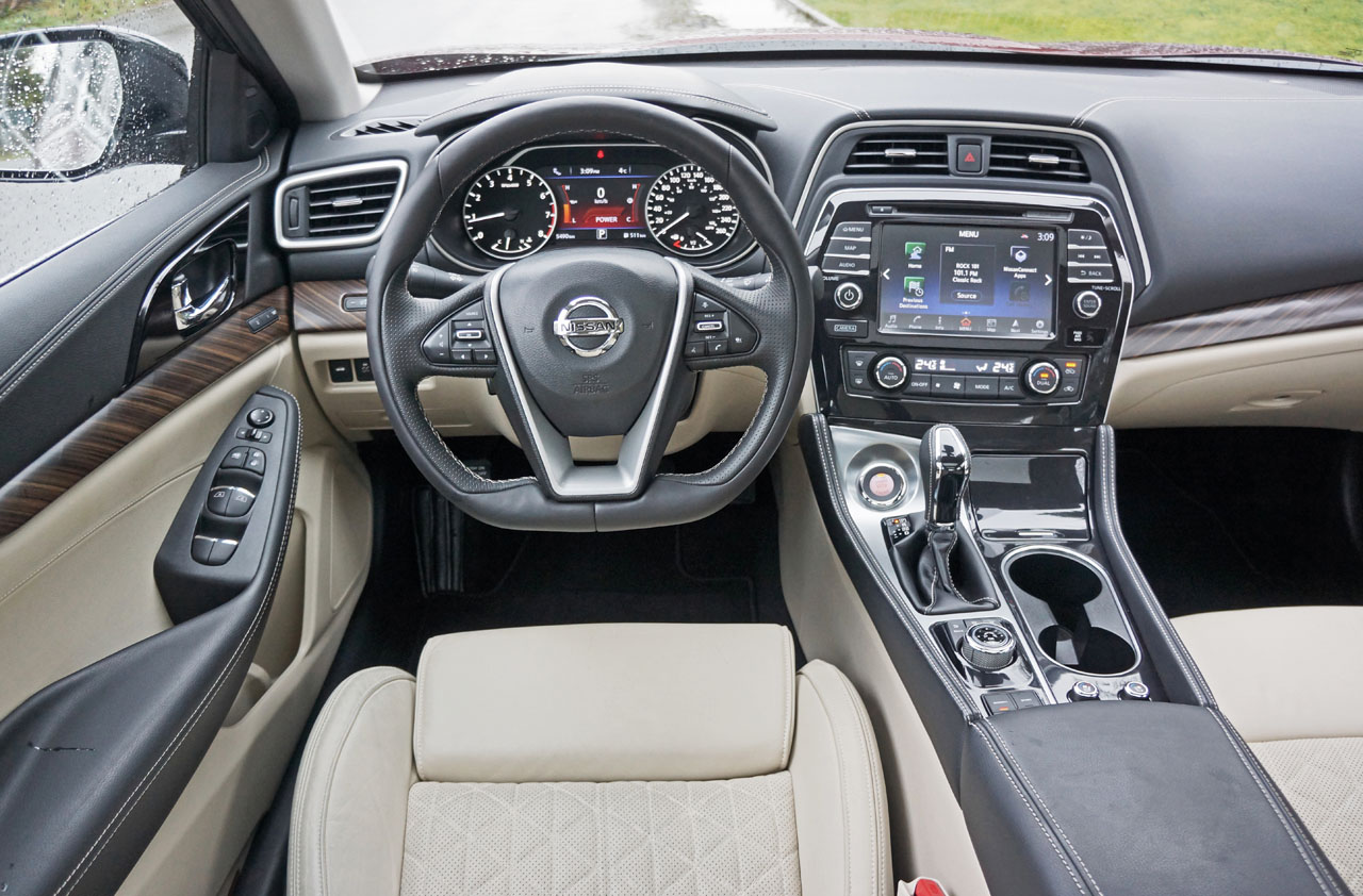 2016 Nissan Maxima Platinum Road Test Review | CarCostCanada™