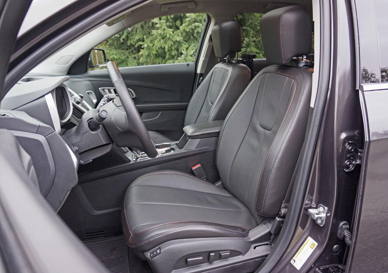 2016 Chevrolet Equinox Ltz Awd Road Test Review Carcostcanada Honda Pioneer Cargo Tray