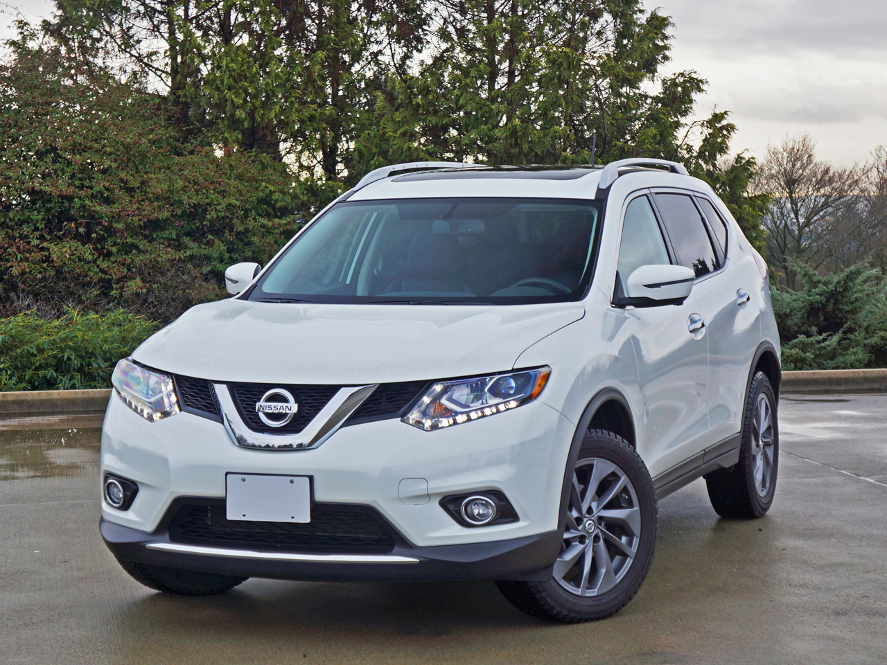 2016 Nissan Rogue Sl Premium Awd Road Test Review