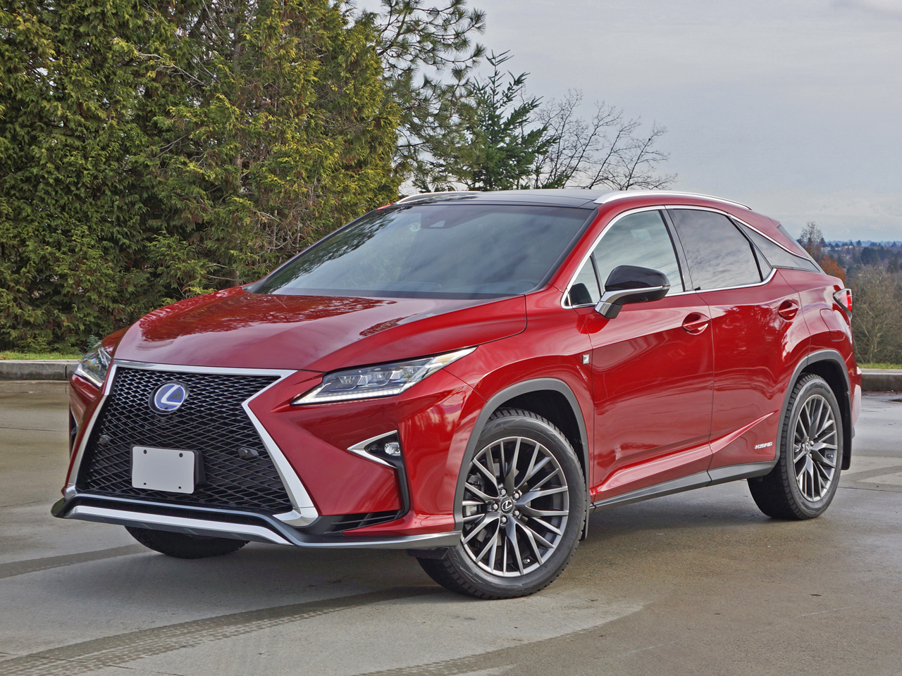 2016 lexus rx 450h f sport awd road test review carcostcanada. Black Bedroom Furniture Sets. Home Design Ideas