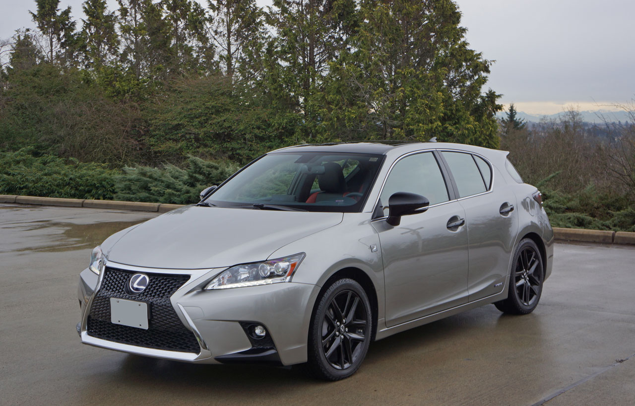 2016 Lexus CT 200h F Sport Special Edition Road Test
