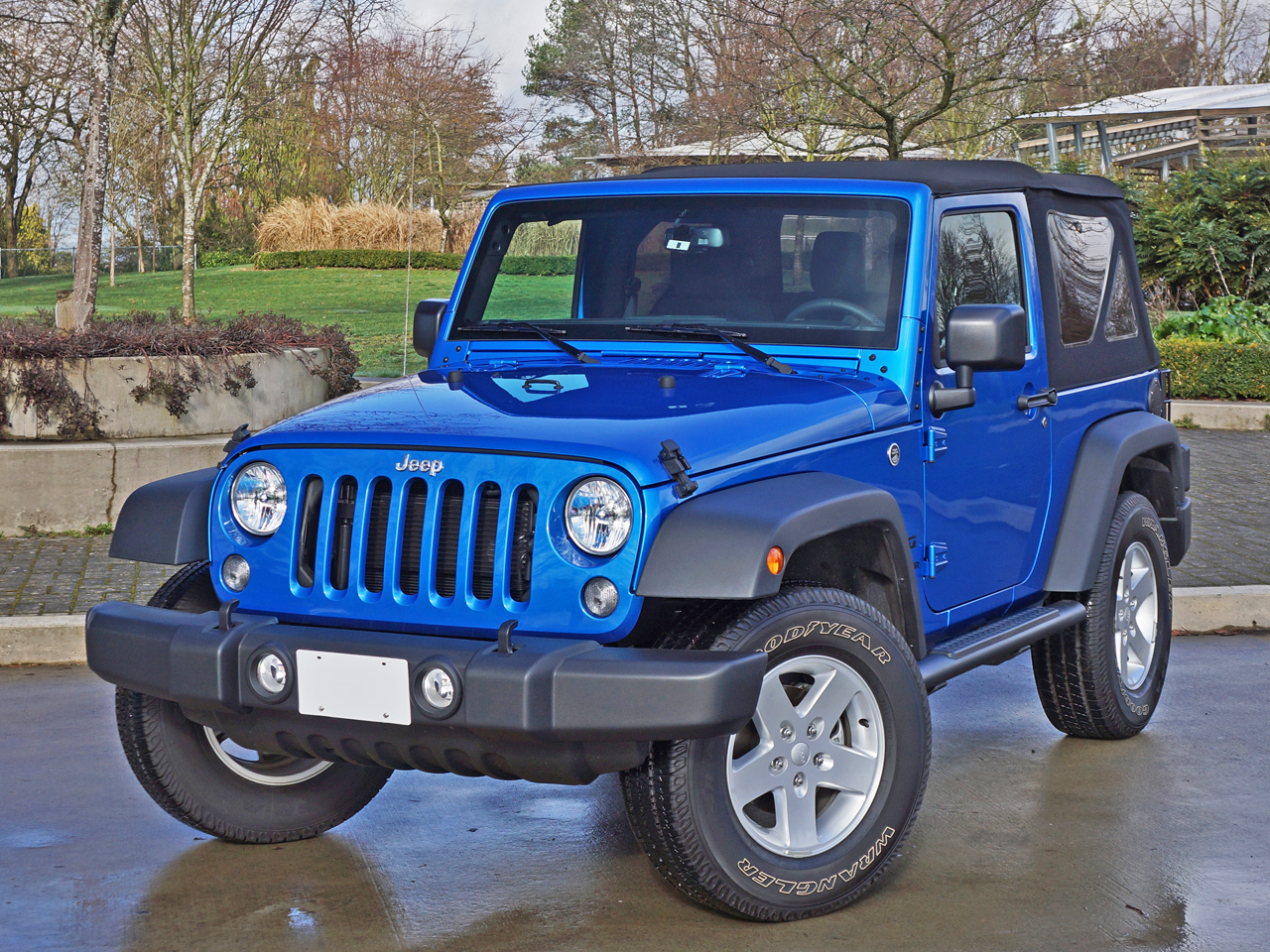 2016 jeep wrangler sport s road test review carcostcanada. Black Bedroom Furniture Sets. Home Design Ideas
