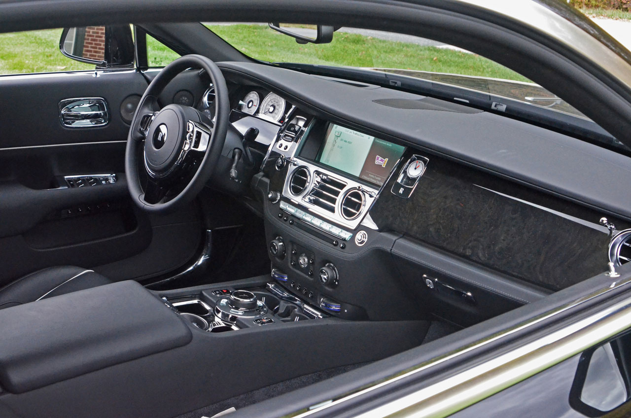 rolls royce wraith interior black 50275 linepc. Black Bedroom Furniture Sets. Home Design Ideas
