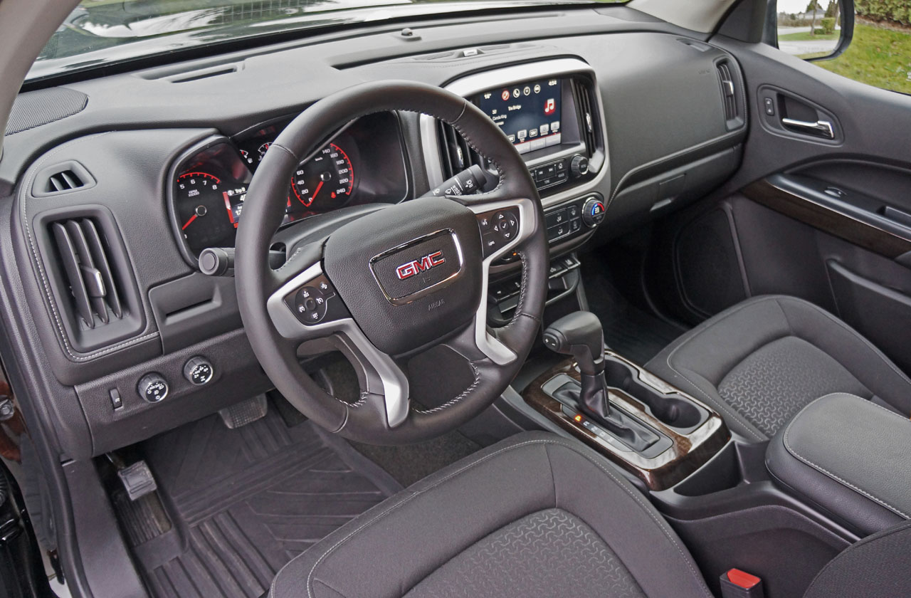 Chevelle blue metallic paint car pictures car canyon - 2016 Gmc Canyon Sle Crew Cab 4wd Nightfall Edition Road Test Review Carcostcanada