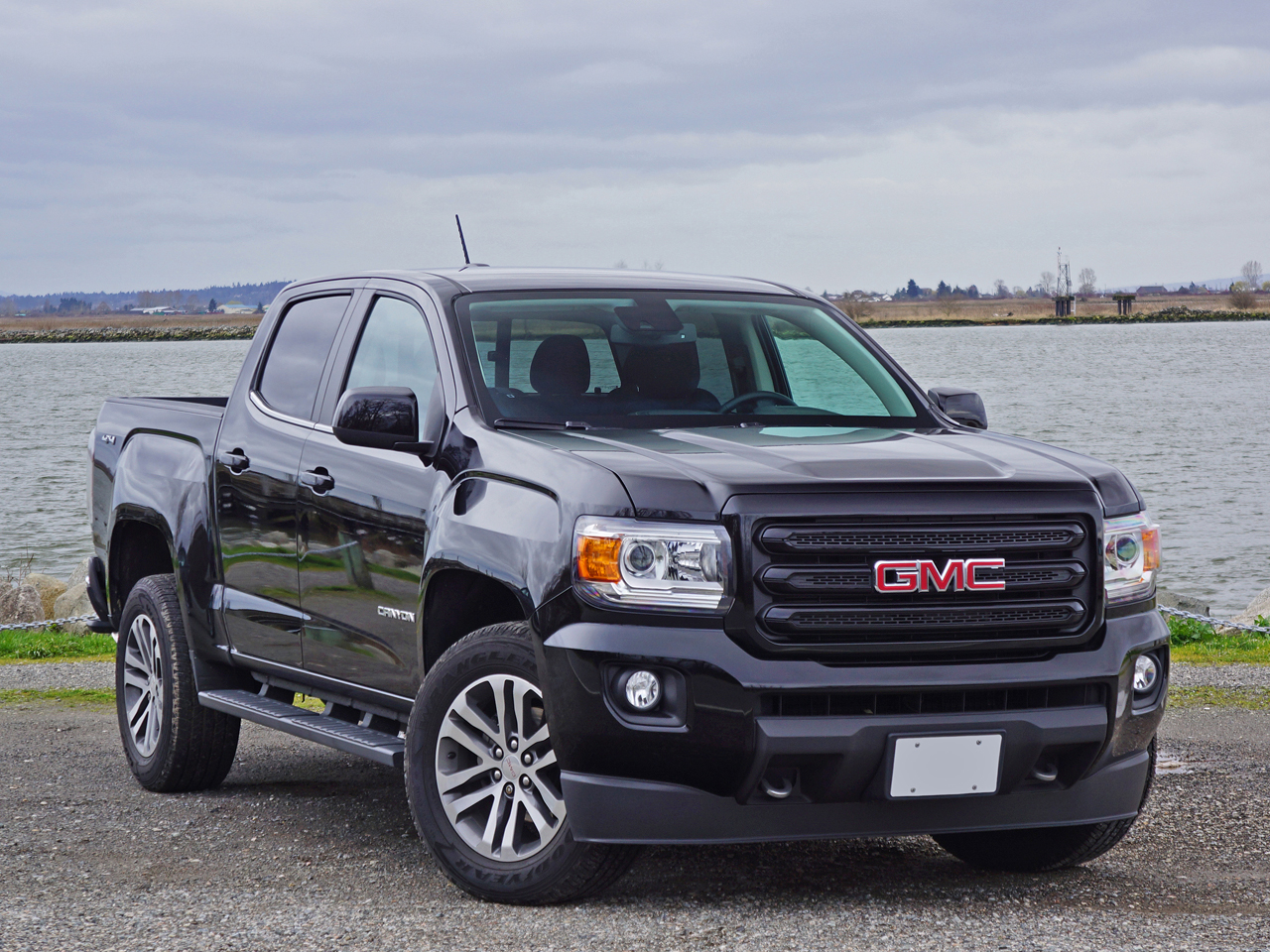 2016 Gmc Canyon Sle Crew Cab 4wd Nightfall Edition Road