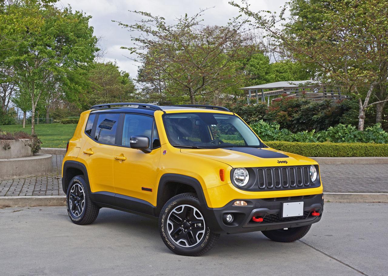 2016 jeep renegade trailhawk road test review carcostcanada. Black Bedroom Furniture Sets. Home Design Ideas