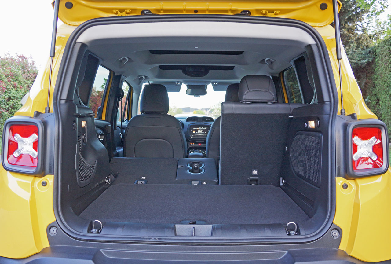 jeep renegade interior capacity. Black Bedroom Furniture Sets. Home Design Ideas
