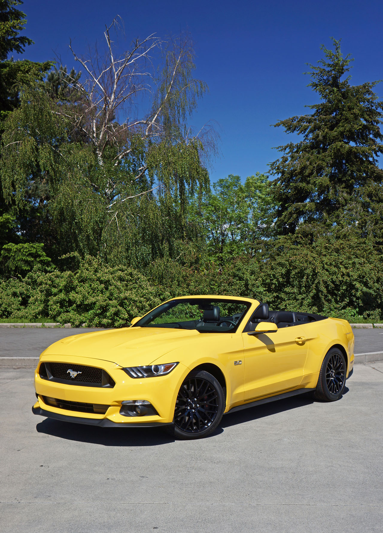 2016 ford mustang gt convertible road test review carcostcanada. Black Bedroom Furniture Sets. Home Design Ideas