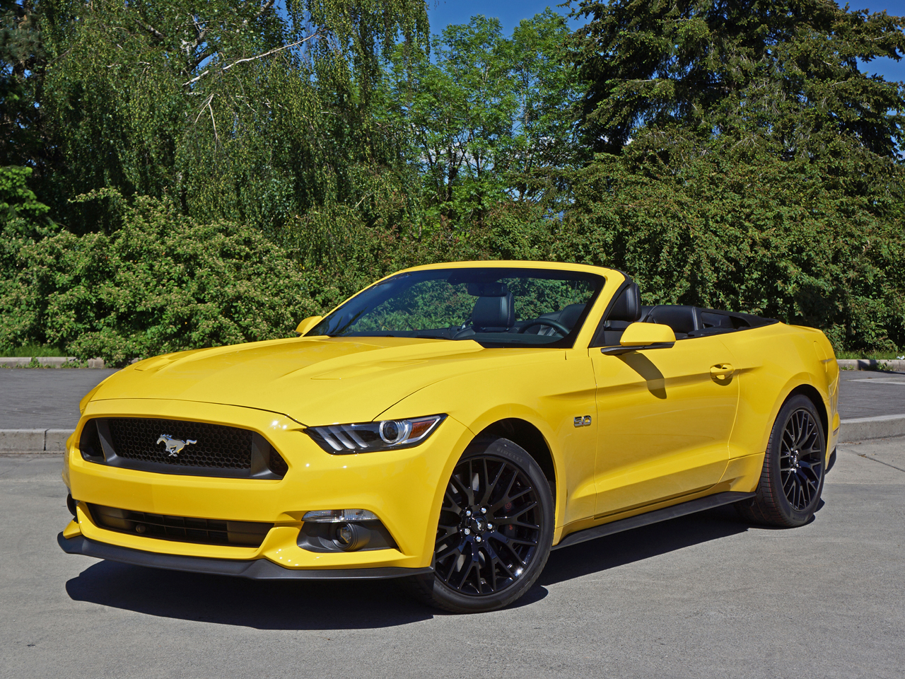2016 ford mustang gt convertible road test review. Black Bedroom Furniture Sets. Home Design Ideas