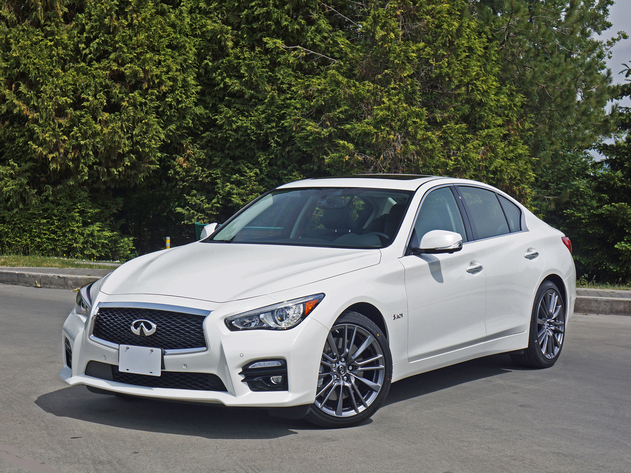 Infiniti Q Red Sport AWD Road Test Review CarCostCanada - Infiniti q50 invoice price