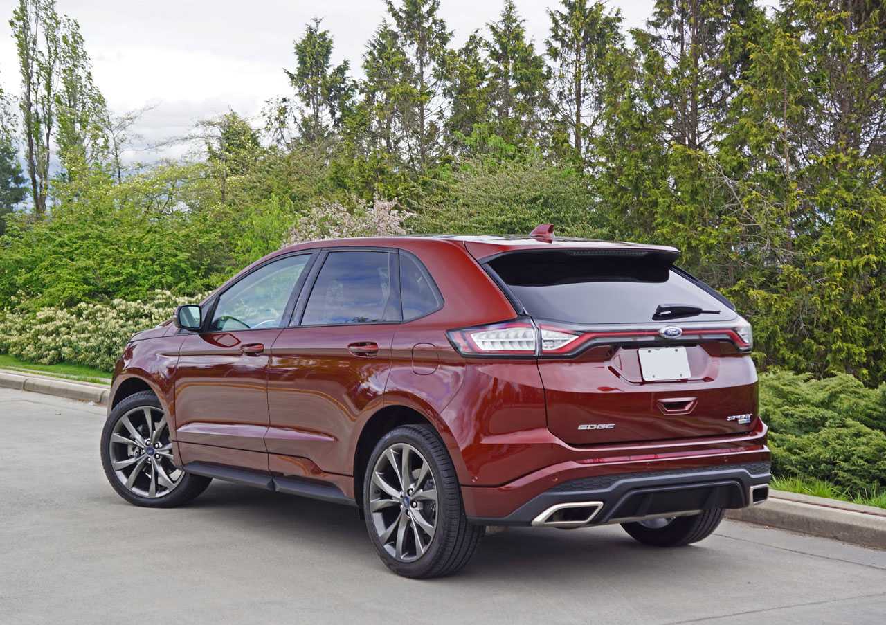 2016 ford edge sport road test review carcostcanada
