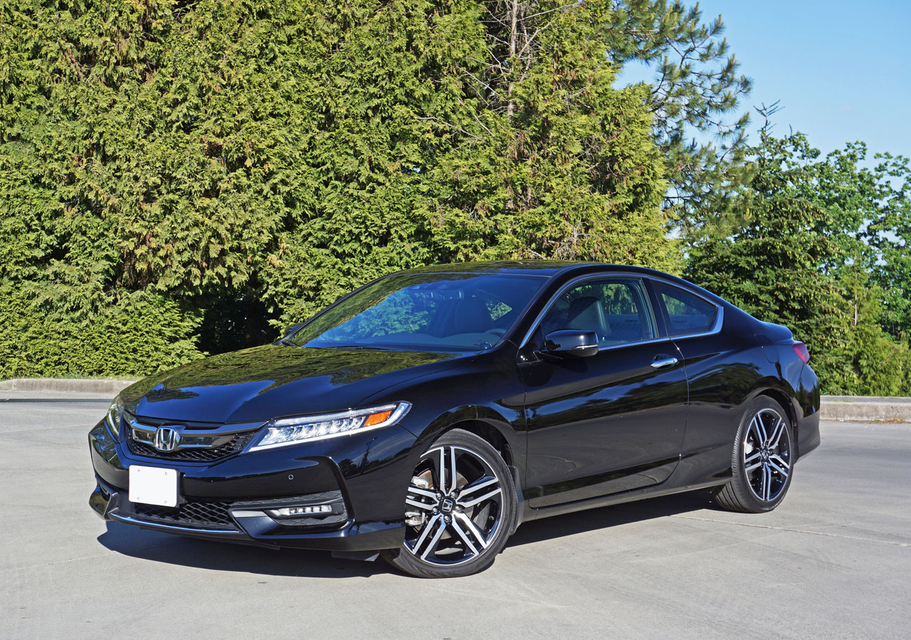 2016 honda accord coupe touring v6 road test review. Black Bedroom Furniture Sets. Home Design Ideas