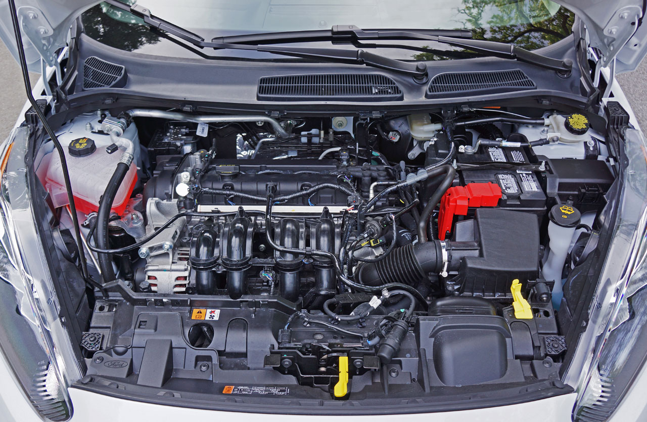 2016 Ford Fiesta Sedan Se Road Test Review Carcostcanada Five Hundred Engine Diagram