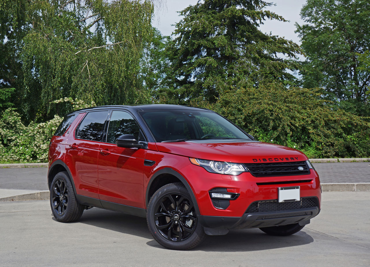 2016 land rover discovery sport hse si4 road test review carcostcanada. Black Bedroom Furniture Sets. Home Design Ideas