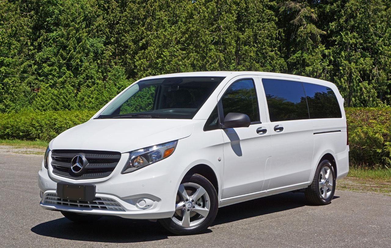 2016 mercedes benz metris passenger van road test review for Mercedes benz metris passenger