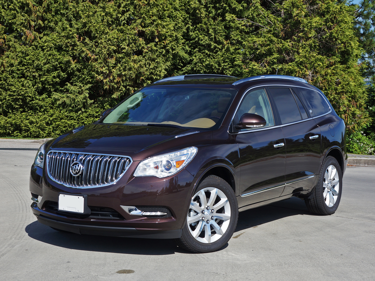 cruising first impression enlcave would in approve enclave buick sinatra l a