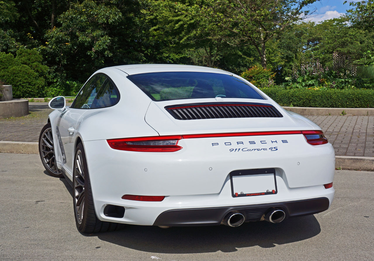2017 Porsche 911 Carrera 4s Road Test Review Carcostcanada
