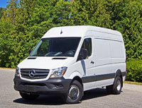 2016 Mercedes-Benz Sprinter 3500 Cargo Van