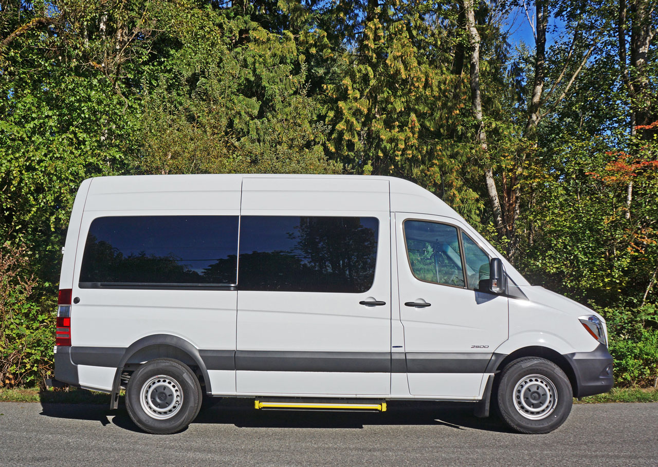2016 Mercedes Benz Sprinter 2500 Penger Van Road Test Review