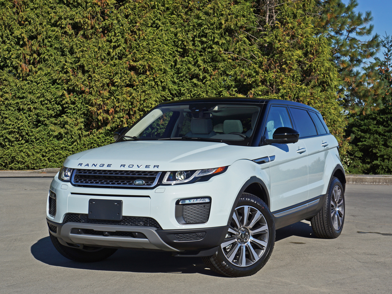 2016 range rover evoque hse si4 road test review carcostcanada. Black Bedroom Furniture Sets. Home Design Ideas