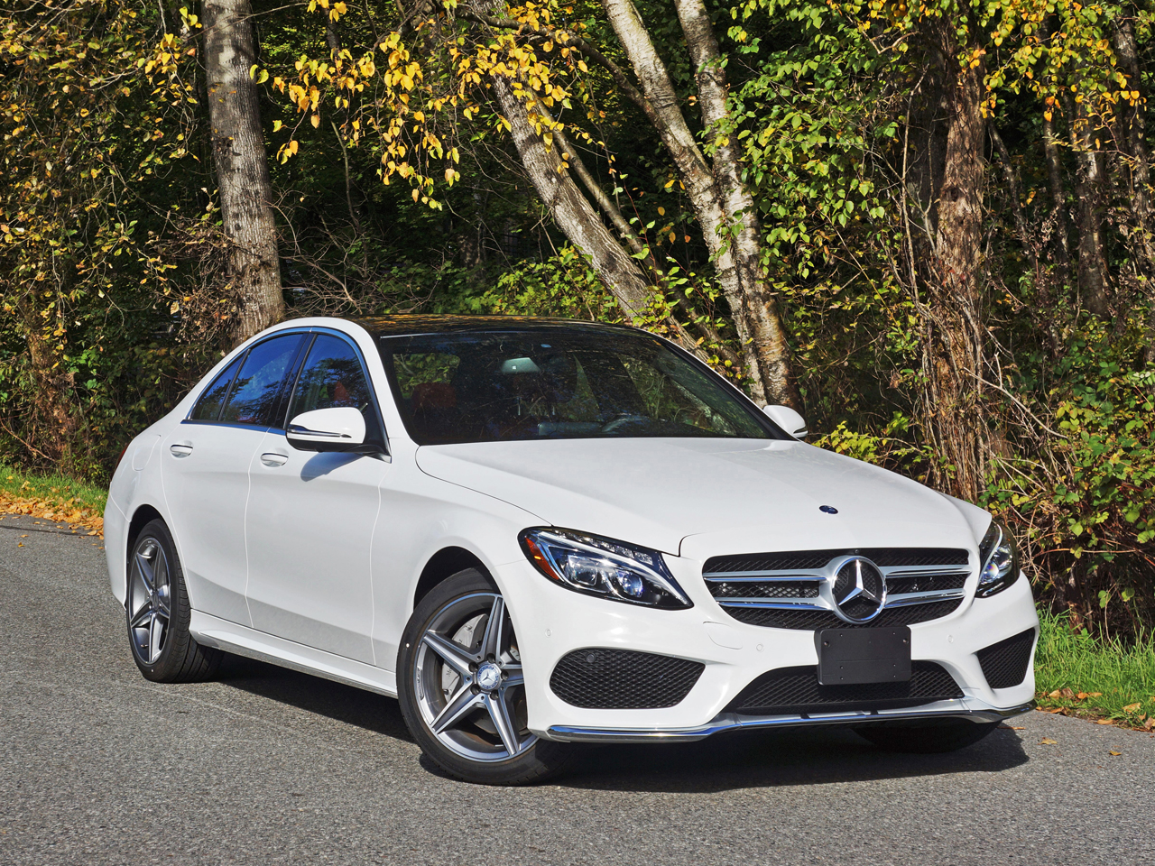 2016 Mercedes Benz C300 4matic Sedan Road Test Review