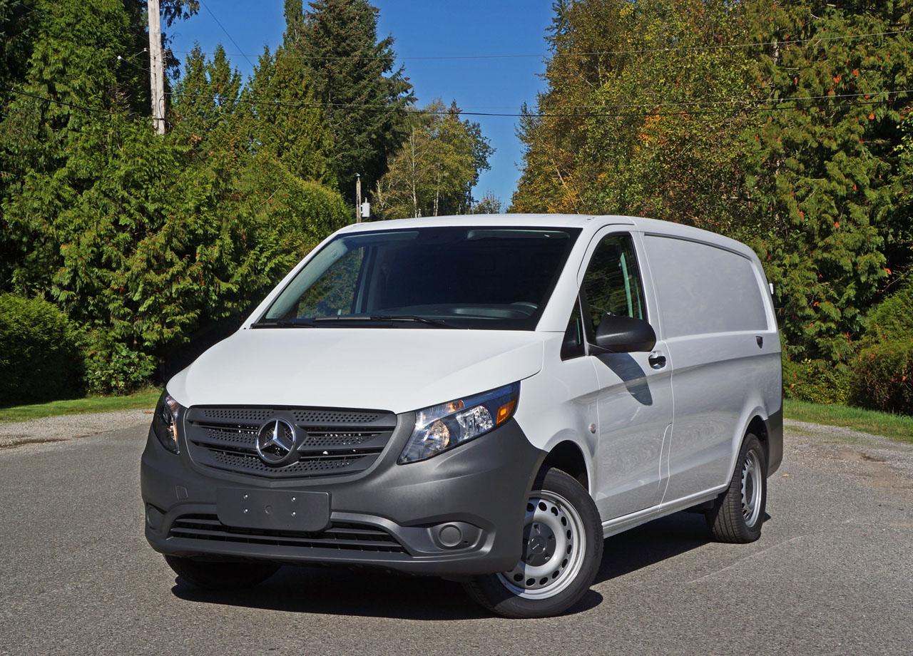 2017 Mercedes Benz Metris Cargo Van Road Test Review